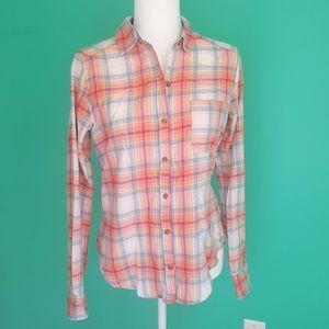 Hollister XS Flannel Shirt